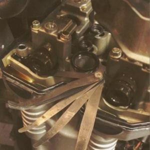 Seřízení ventilů